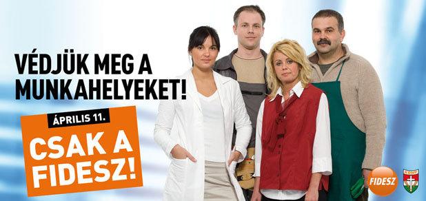 Csak a Fidesz!