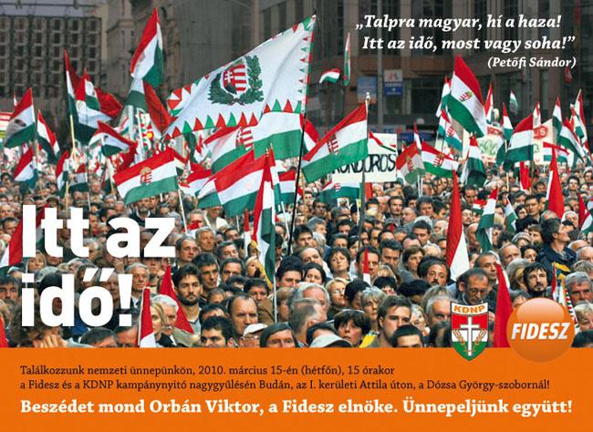 Március 15-én kampánynyító nagygyűlés